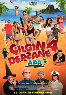 Çılgın Dersane 4: Ada (2015) HD