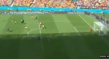 MATCH SAVING GOAL Robin van Persie Goal Australia vs Netherlands 2 2 World Cup 2014