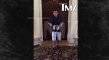 Charlie Sheen -- Ice Bucket Challenge with a BIG Twist
