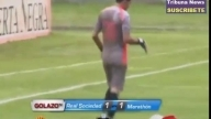 Toca trasero a jugador y lo expulsan | Goalkeeper touches buttocks and a player is ejected