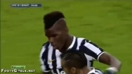 Juventus vs SSC Napoli - Paul Pogba Incredible Volley Goal - 10.11.2013