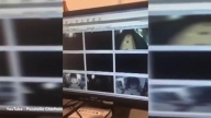 Idaho School CCTV Captures Ghost and Crazy Light Flickering