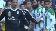 Cristiano Ronaldo Red Card vs Cordoba - Hits Cordoba Player 1/24/2015