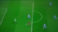 Totti - gran gol in Champions League in Manchester City-Roma