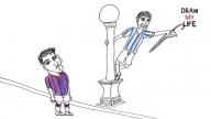 DRAW MY LIFE with Lionel Messi!