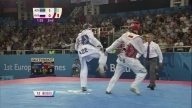 Radik Isaev wins the Men's +80kg event | Taekwondo | Baku 2015 European Games