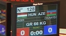 GR-Wrestling World Cup 2013, HUN-AZE 0-7 / HIGHLIGHTS