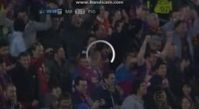 Fantastic Goal Pedro - Barcelona vs Paris Saint-Gain 1-1 - 10-04-2013 - Champions League.