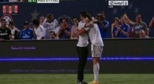 Cristiano Ronaldo & Fan (08.08.2013 - Real Madrid vs. Chelsea)