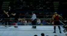 Invasion of the Bodyslammers - Undertaker vs Papa Shango 1992.12.14