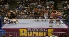 Royal Rumble - Undertaker in the Royal Rumble match 1991.01.19