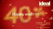 IDEAL-da Happy Endirim!