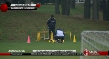 MILANELLO | training 16/1/2014 | part 2 | Seedorf's first day