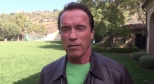 Arnold Schwarzenegger sends a message to the Ukrainian people