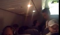 Angry passenger on Delta flight