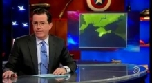 Кризис на Украине и критика Обамы в сюжете The Colbert Report