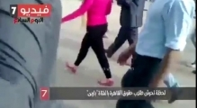 Blonde girl subjected to catcalls and abuse at Cairo university